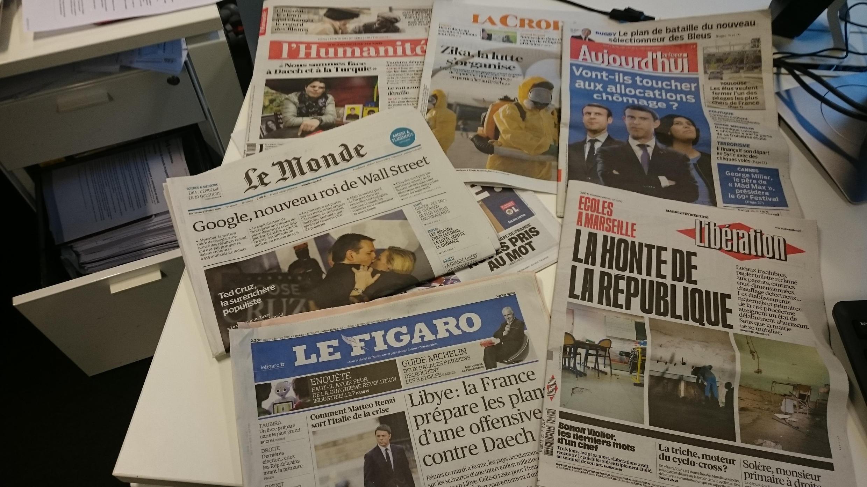 Diários franceses 02.02.2016