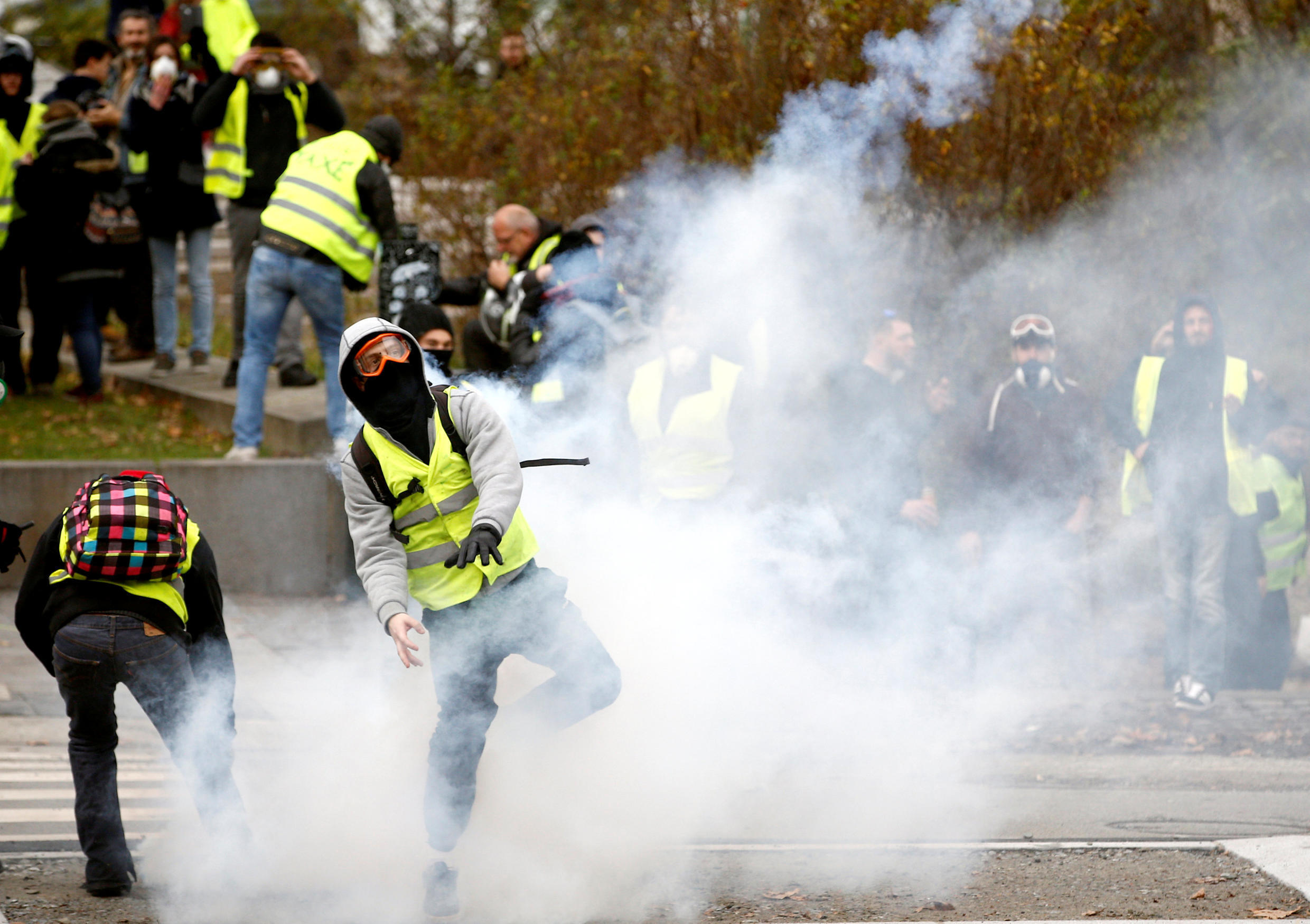 Die-hard yellow vest supporters believe the movement will live on in 2019