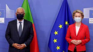 António Costa - Portugal - Ursula Von Der Leyen - Bruxelas - Bruxelles - Bélgica - União Europeia