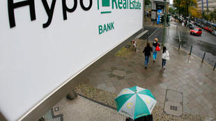Une agence berlinoise de la Hypo Real Estate.