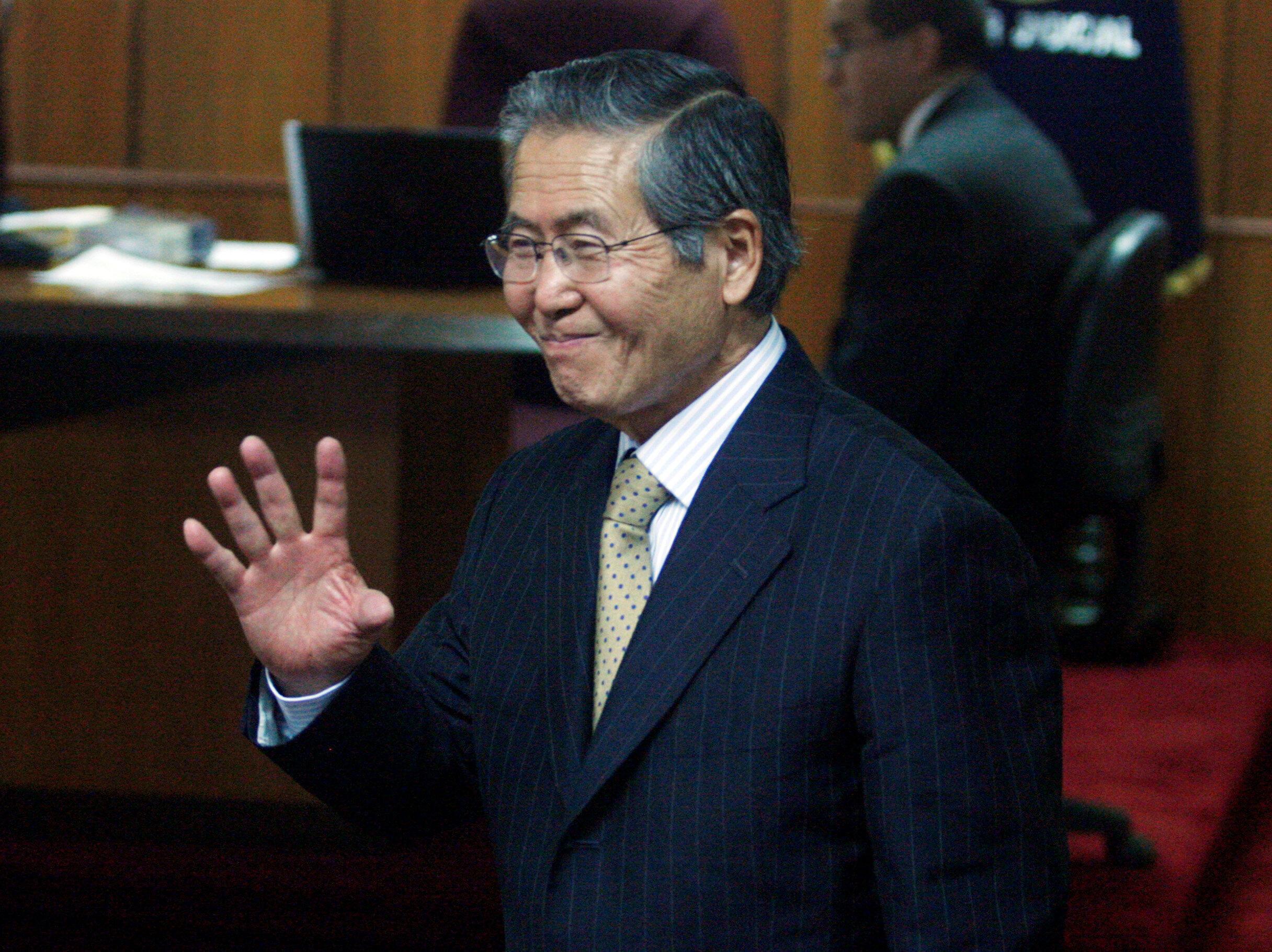 Cựu tổng thống Peru, Alberto Fujimori. Ảnh năm 2007.