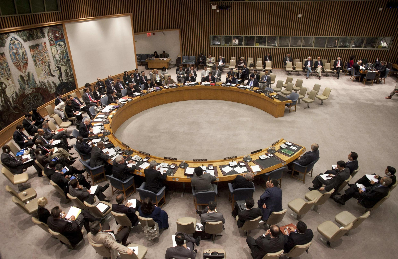 Обсуждение сисрийского вопроса в Совете безопасности ООН 21 апреля 2012 г.