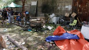 """داعش، مسئولیت حمله انتحاری یکشنبه ۲۴ ژوئیه ٢٠۱۶ را که در محله """"کاظمین"""" بغداد روی داد به عهده گرفت."""