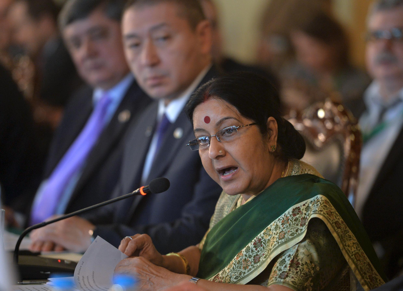 印度外交部長史瓦拉吉日前訪問了巴基斯坦
