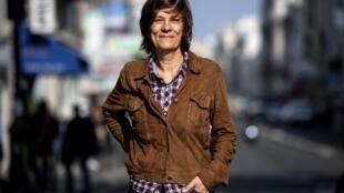 La réalisatrice française, Catherine Corsini à Paris le 19 octobre 2018, à Paris.