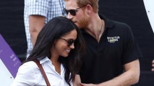 O príncipe Harry da Inglaterra, de 33, e a atriz americana Meghan Markle, de 36, vão se casar na primavera.