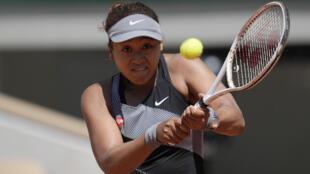Japanese tenniswoman Naomi Osaka, on May 30, 2021 in Paris during the Roland-Garros tournament.