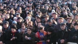 Митинг оппозиционного Армянского национального конгресса в Ереване, Ереван 1 марта 2012 года