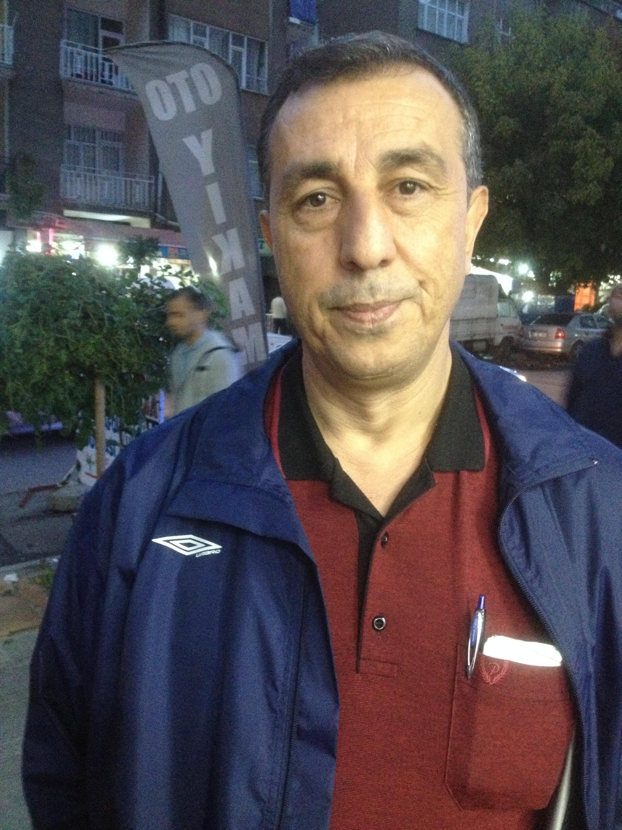 Abdullah Demirbash, a leading HDP supporter in Diyarbakir, Turkey.