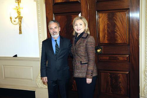 Encontro do Ministro das Relações Exteriores, Antônio Patriota com a Secretária de Estado Hillary Clinton em Washington.