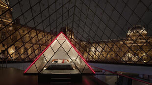 Sleeping in the Louvre's pyramid