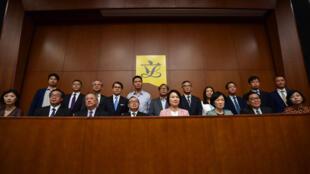 Les autorités chinoises ont tenu une conférence de presse ce mercredi 16 octobre pour réagir aux votes des députés américains.
