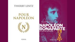 montage couvertures - Napoléon - Thierry Lentz - Natalie Petiteau - Idées