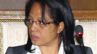Cécile Manorohanta, le nouveau Premier Ministre du gouvernement d'Andry Rajoelina.