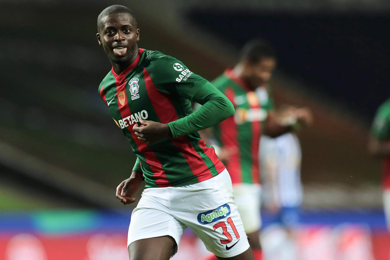 Nanú, internacional guineense, apontou o terceiro golo do Marítimo no triunfo por 2-3 na deslocação ao terreno do FC Porto.