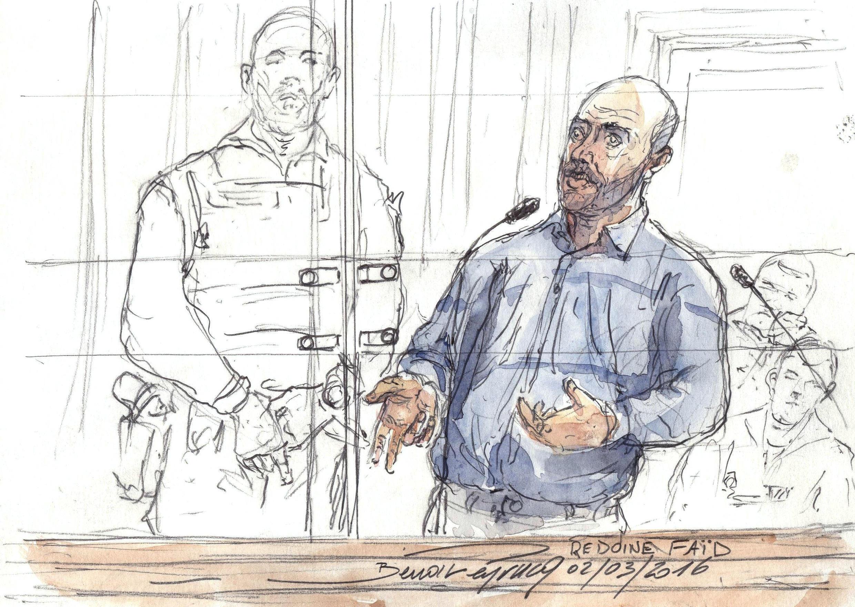 После прошлого побега Редуан Фаид шесть недель скрывался от полиции