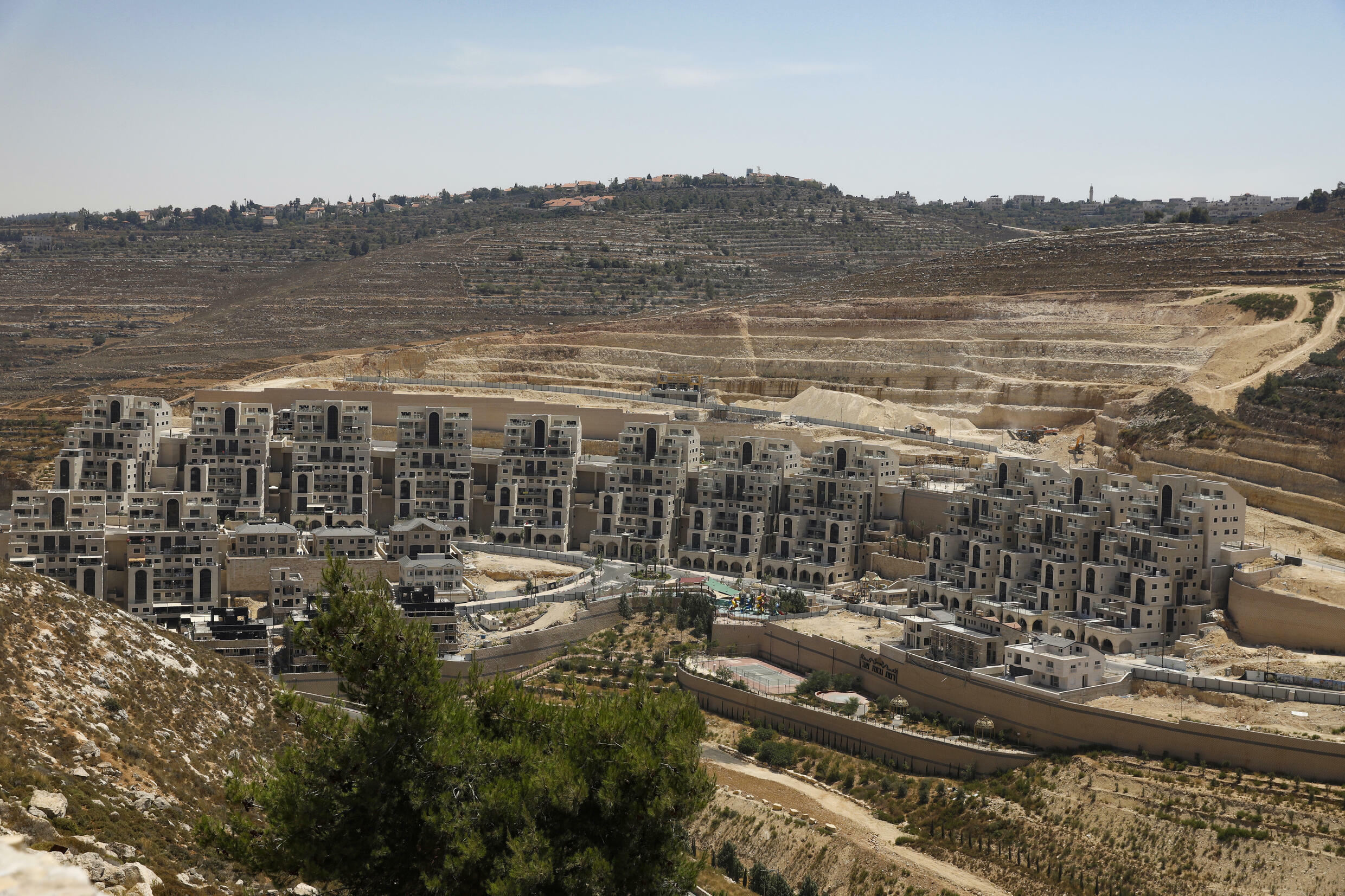 More than 600,000 Israeli Jews live in settlements in the occupied West Bank and east Jerusalem that are considered illegal under international law