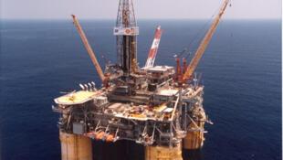 La plateforme pétrolière Brutus de Shell dans le golfe du Mexique.