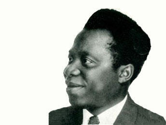 Barthélemy Boganda, président de la République centrafricaine autonome.