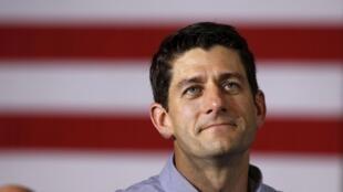 Agé de 42 ans, Paul Ryan a été élu au Congrès à l'âge de 28 ans.