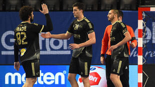 Portugal - Luís Frade - Leonel Fernandes - Alexandre Cavalcanti - Andebol - Selecção Portuguesa - FC Porto - Desporto - Handball