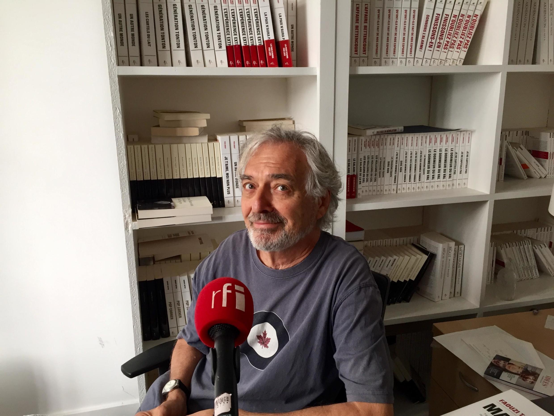 L'écrivain Jean-Paul Dubois (août 2019)
