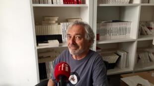 L'écrivain Jean-Paul Dubois (août 2019).