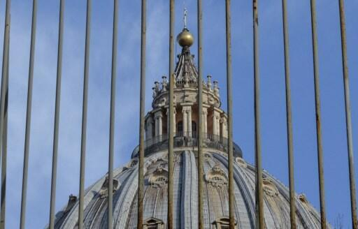 梵蒂冈圣彼得大教堂的穹顶。