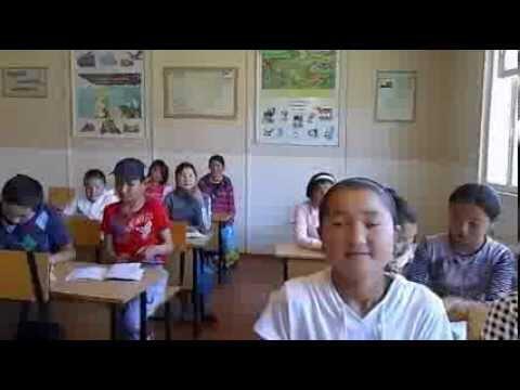 Школьный класс в Киргизии
