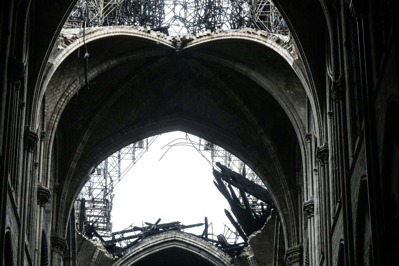 Восстановительные работы в соборе остановлены на время карантина.