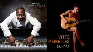 Manuel Anoyvega Mora (Crescendo) et Vitto Meirelles (photo Rodrigo Romano).
