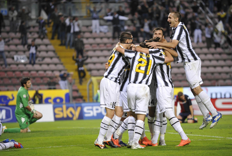 Wachezaji wa klabu ya Juventus