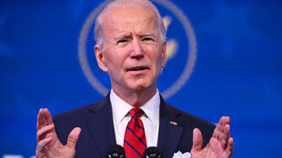 El presidente electo de EEUU, Joe Biden