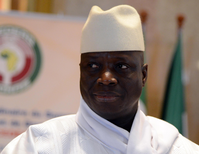 Tsohon  Shugaban kasae Gambia Yaya Jammeh