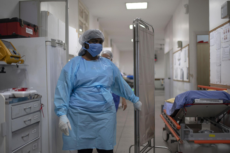 法廣存檔圖片 - Image d'archive RFI : Au Brésil, dans certains hôpitaux, les salles en soins intensifs sont pleines et il y a une liste d'attente (image d'illustration)