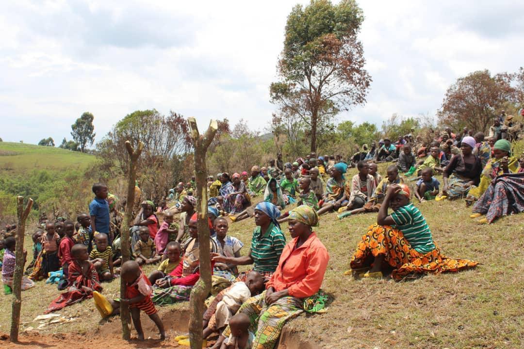 Des déplacées de Bijombo, sur les hauts plateaux du Sud-Kivu (RDC), le 18 novembre 2019 (image d'illustration).