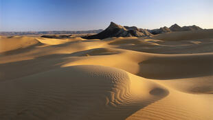 O aquecimento do planeta favorece o aumento de zonas desérticas no mundo.