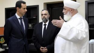 Le mufti de Damas Adnane al-Afyouni était considéré comme un proche du président syrien Bachar al-Assad.