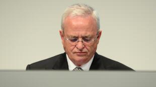 O ex-presidente da Volkswagen, Martin Winterkorn, em 5 de maio