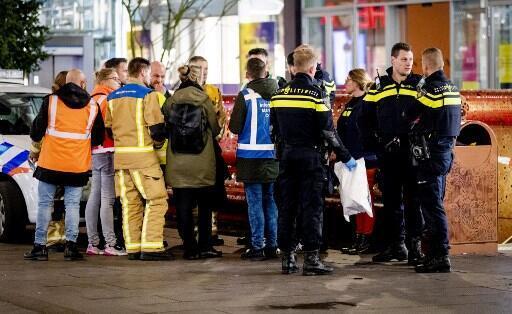 L'attaque au couteau est survenue dans le GroteMarkstraat, dans le centre-ville de La Haye.