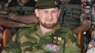 Ramzan Kadyrov, président de Tchétchénie.
