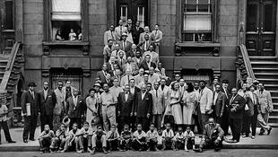 'A Great Day In Harlem' depicts 57 Jazz greats and was taken on 12 August 1958