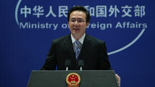 中国外交部发言人洪磊。