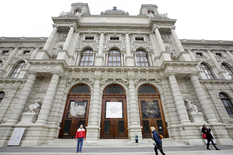 Ici, le Kunsthistorisches Museum à Vienne, Autriche. (Photo d'illustration)