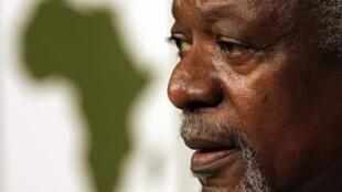 Kofi Annan, ancien secrétaire général de l'ONU.