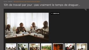 Série de photos issues du projet «Classes moyennes africaines», du photographe Joan Bardeletti, montrant notamment des cadres lors d'une formation à Douala, au Cameroun.