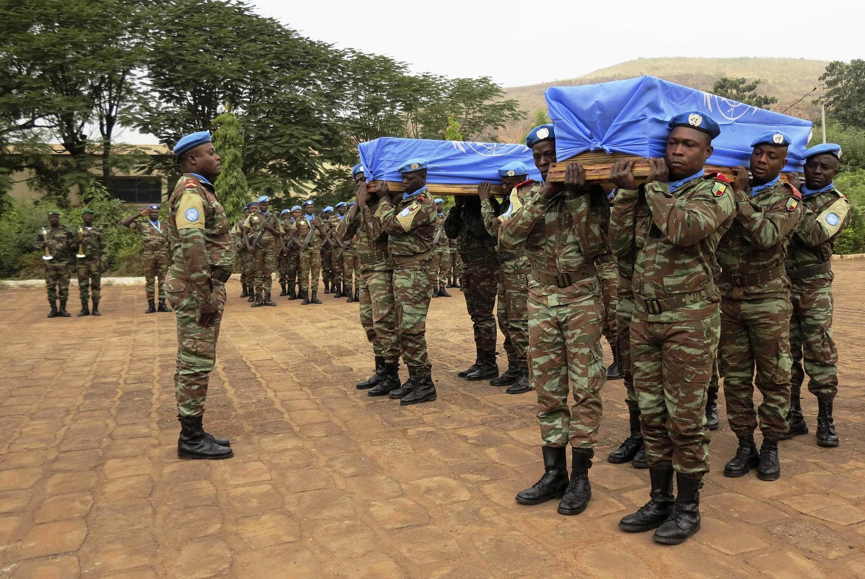 Hommage aux soldats sénégalais tombés au Mali, le 18 décembre.