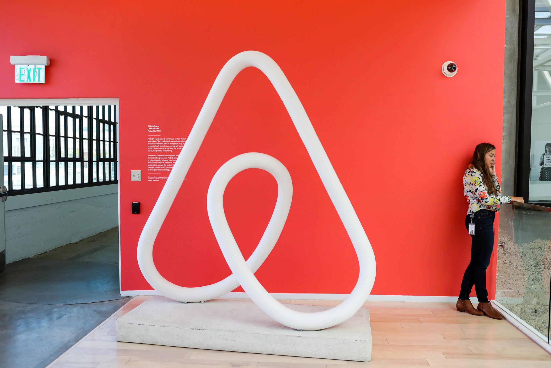 Le siège officiel de Airbnb à San Francisco.