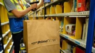 Amazon lançou na semana passada o primeiro serviço de entrega em apenas uma hora em Paris.