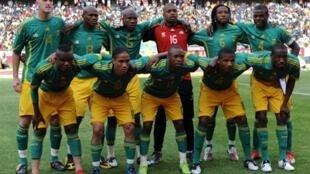 Les bafana bafana, timu ya taifa ya soka ya Afrika Kusini.